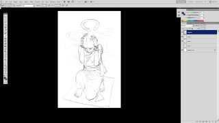 Medusa Character Sketch Timelapse