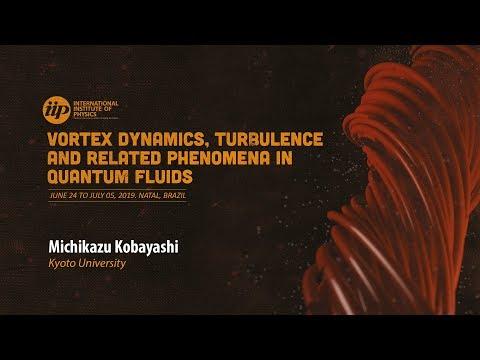 Universality class of transition from vortex - free to quantum turbulences - Michikazu Kobayashi