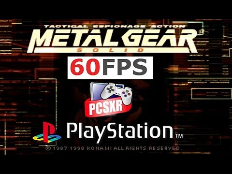 Metal Gear Solid PS1/ PSX Widescreen @ 60fps PCSXR-PGXP (MGS, 1998)