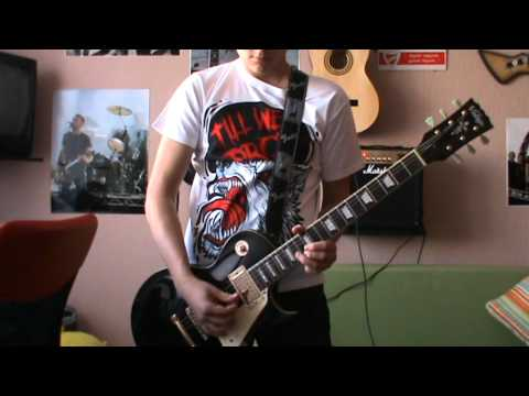 Blessthefall - Hey Baby, Here's That Song You Wanted (Guitar Cover)