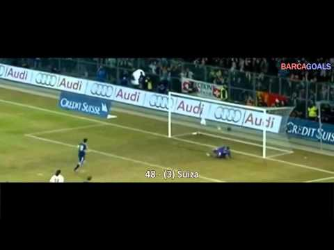 Los 86 goles de Messi durante el 2012