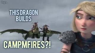 """Video """"This dragon builds campfires?!"""" (Race to the Edge Humor) MP3, 3GP, MP4, WEBM, AVI, FLV Juni 2018"""