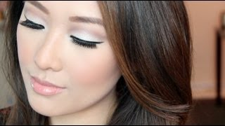 Simple Subtle Modern Mod Tutorial - Maybelline Color Tattoo/Urban Decay Naked 2 (great for monolids) - YouTube