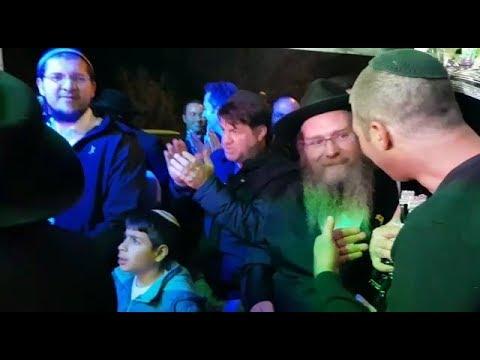 הכנסת ספר תורה לבית הכנסת בנעלה