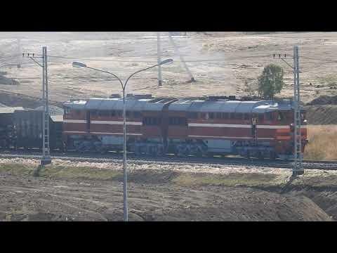 Первый железнодорожный состав прошёл по Крымскому мосту