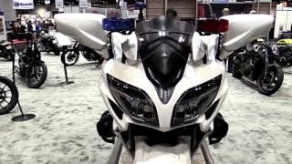 9. 2018 Yamaha FJR1300 SE Premium Features Edition First Impression Walkaround HD