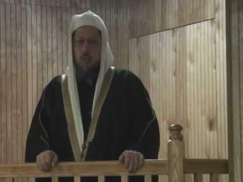 خطبة الجمعة للشيخ وليد المنيسي 01-13-2012