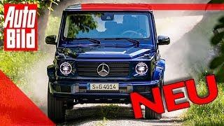 Mercedes G 400 d (2019): Neuvorstellung - Motor - Gelände - SUV by Auto Bild