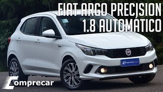 Avaliação: Fiat Argo Precision 1.8 Automático