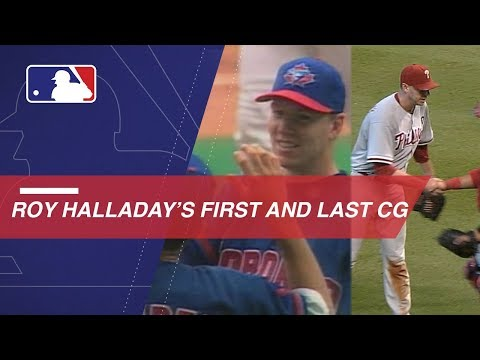 Video: A look at Halladay's first and last complete games