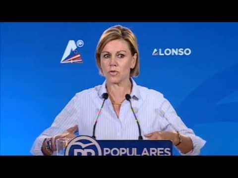 """Cospedal: """"El PP es el muro de contención al nacionalismo"""""""