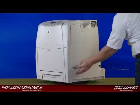 HP Color LaserJet 4600 Transfer Belt Kit Instructional Video