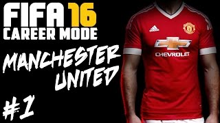 Video FIFA 16: Manchester United Career Mode #1 - Welcome To The New Age MP3, 3GP, MP4, WEBM, AVI, FLV Desember 2017