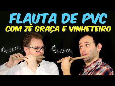 Flautas de pvc