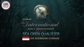 Indonesian Coverage for The International 7 SEA Open Qualifier #1 Caster : Justincase (Home Cast) Website: http://ligagame.tv/ ...