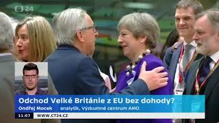 Britská vláda zveřejní první instrukce ohledně odchodu z EU bez dohody