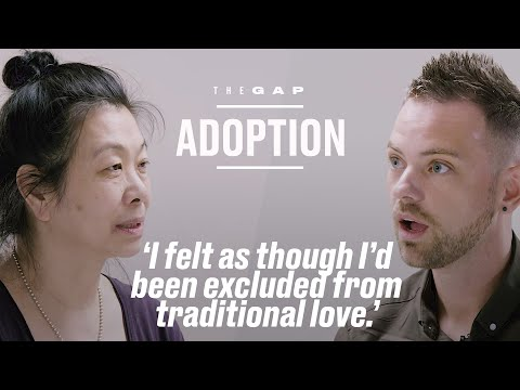 Old Adoptee Meets Young Adoptee | The Gap | LADbible