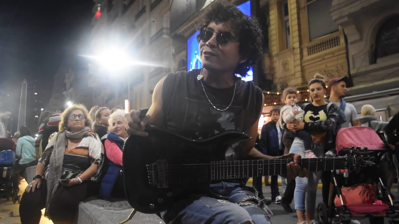 Chandelier – Version Electric Guitar ON THE STREET – Cover