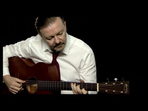 guitar - David Brent kicks off his new series of guitar tutorials with the song 'Life On The Road'. SUBSCRIBE for more Brent tutorials! ▻ http://is.gd/RickyGervais Th...
