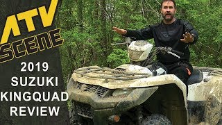 9. 2019 Suzuki KingQuad 750 AXi Review