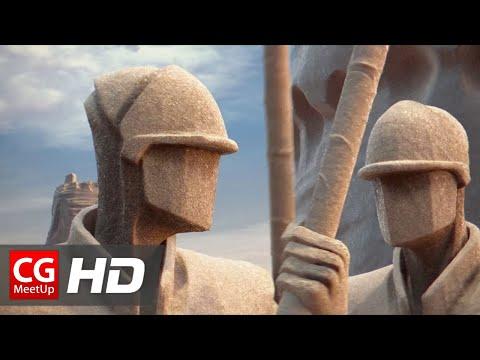 "CGI Animated Short Film HD ""Chateau de Sable (Sand Castle) "" by ESMA | CGMeetup"
