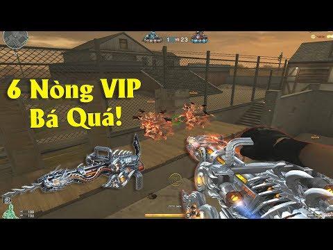 6 Nòng VIP Thủ Siêu Bá Đạo Ở Chế Độ Zombie NANO Mới CFQQ! - Thời lượng: 10 phút.
