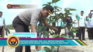 KAPOLDA CANANGKAN BHABINKAMTIBMAS GO GREEN DI BELITUNG#TRIBRATA NEWS