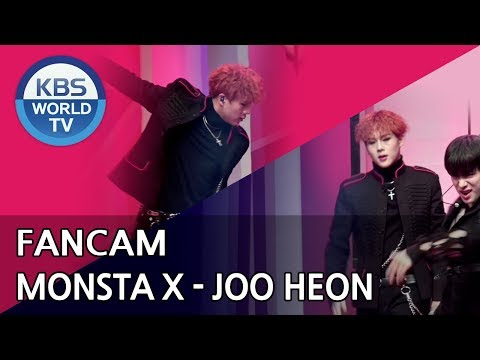 [FOCUSED]MONSTA X's JOOHEON - Shoot Out[Music Bank / 2018.10.26]