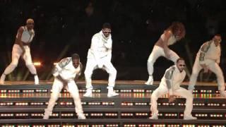 Usher live at Super Bowl XLV