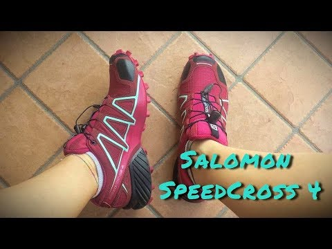 Salomon SpeedCross 4 | Scarpe che mi hanno stupita