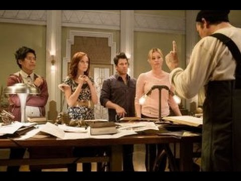 """The Librarians After Show Season 1 Episode 5 """"And The Apple Of Discord"""" 