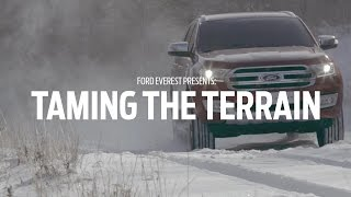 Ford Everest Teases Terrain Management System
