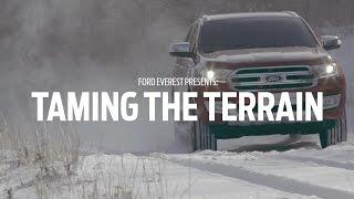 Ford Everest Teases Terrain Management System
