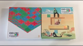 ♡Unboxing EXO-CBX 첸백시 2nd Mini Album Blooming Days 블루밍 데이즈 (Blooming & Days Ver.)♡