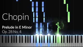 Prelude in E-Minor (op. 28 No. 4) - Frederic Chopin [Piano Tutorial] Ноты и МИДИ (MIDI) можем выслат
