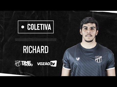 [Entrevista Coletiva] Richard