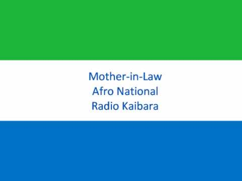 mother in law - Afro National