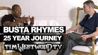Busta Rhymes 25 year journey & new album - Westwood