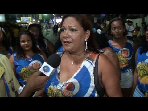 Foliã conta que já desfila há 9 anos pelo bloco