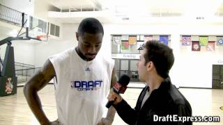 DraftExpress Exclusive: Terrico White Pre-Draft Interview & Workout Footage