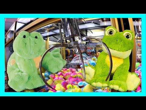 CAN MICHAEL WIN A FROG PLUSH WITH 3 CREDITS LEFT?