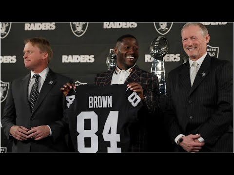 How Antonio Brown trade changed Raiders' plan for NFL free agency