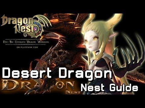 DN - Desert Dragon Nest - 8 อิทธิฤทธิ์พิชิตตะกวดป่า [Full Guide Thai]