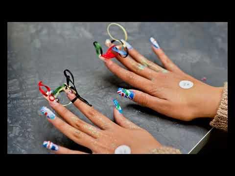 Modelos de uñas - Uñas decoradas ideas de competencia Sencillas Faciles y Elegantes