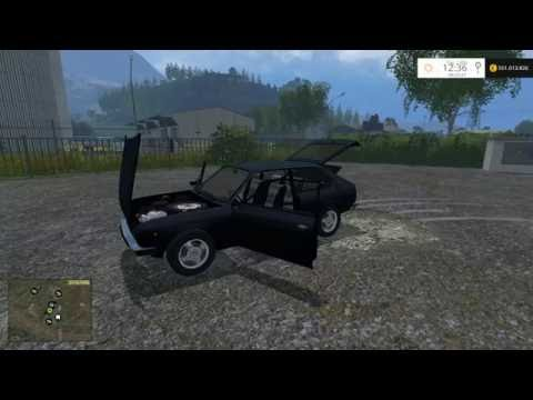 Fiat 128 old and rusted v1.0
