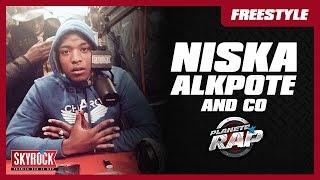 Freestyle de Niska, Alkpote & Co #PlanèteRap
