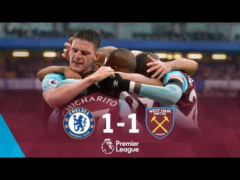 HIGHLIGHTS: CHELSEA 1-1 WEST HAM