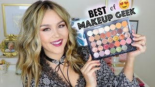 BEST of MAKEUP GEEK | Eyeshadows by Danna Ann