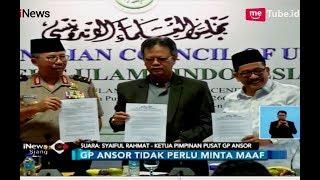 Video MUI Minta Banser Minta Maaf, GP Ansor Kukuh Itu Bendera HTI - iNews Siang 23/10 MP3, 3GP, MP4, WEBM, AVI, FLV Oktober 2018