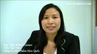 Cảm Nhận Của Học Viên Train To The Trainer - Chị Trần Thị Tính
